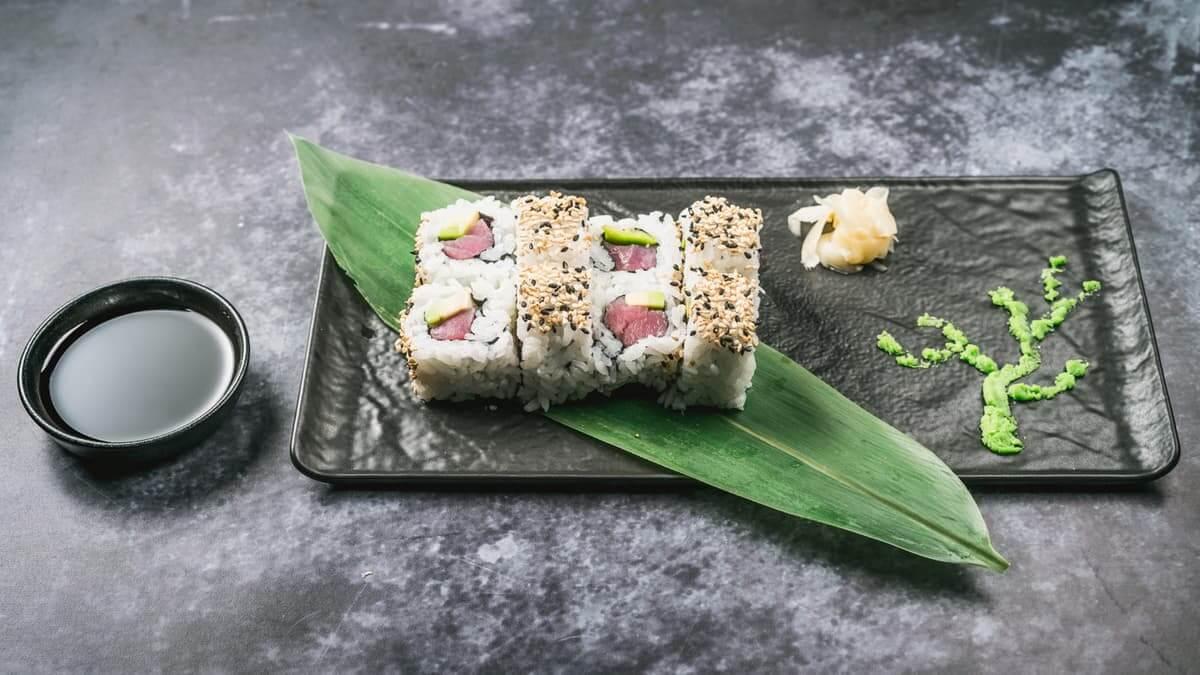 najbolji sushi u zagrebu tekka avokako uramaki roll