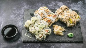 najbolji sushi u zagrebu tempura kozica box