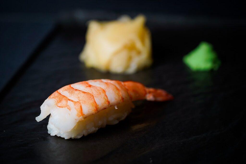 najbolji sushi u zagrebu Ebi nigiri