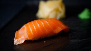 najbolji sushi u zagrebu Sake nigiri