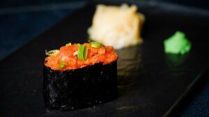 najbolji sushi u zagrebu Spicy negitoro nigiri